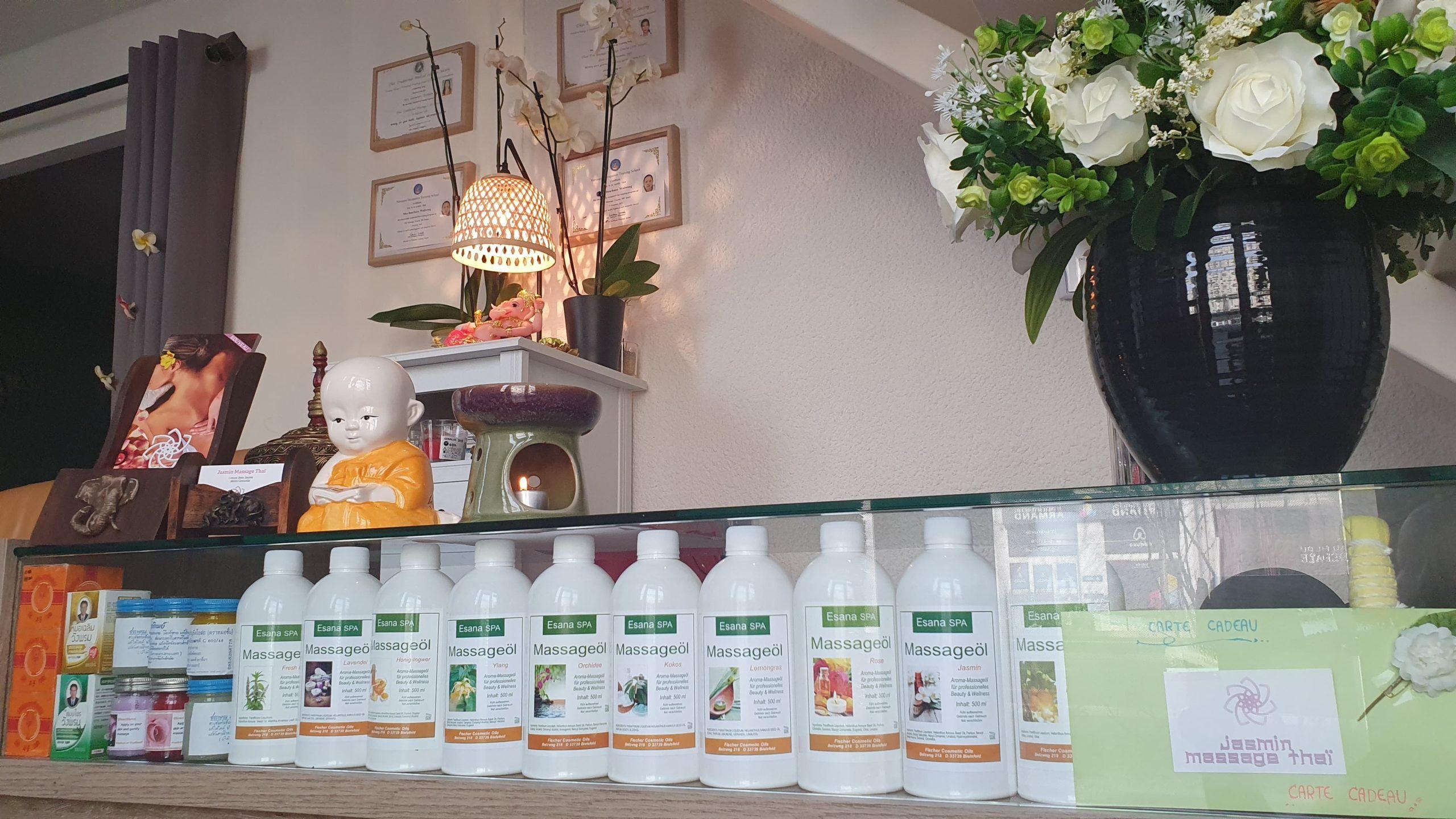 Massages thaï aux produits naturels